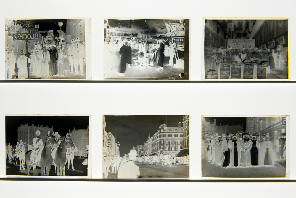 Negatives of Christina Broom Photographs at the Museum of London