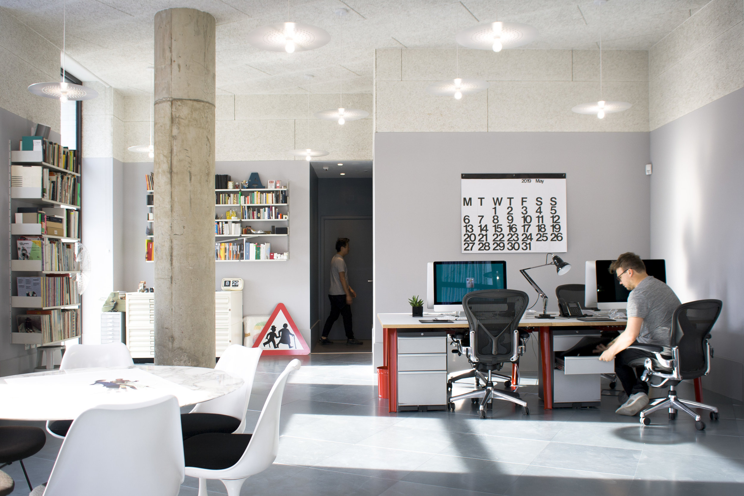Photograph of New Office Fit Out for Graphic Designers NB Studio