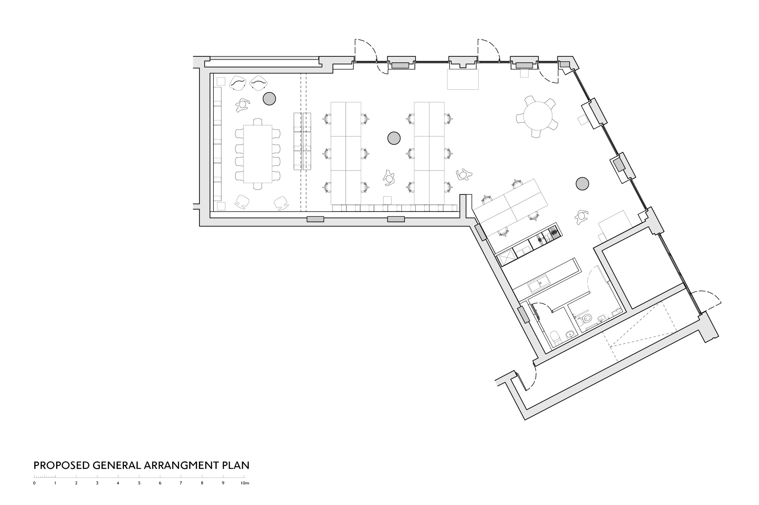 Floor Plan of NB Studio Graphic Design in Blackfriars Circus
