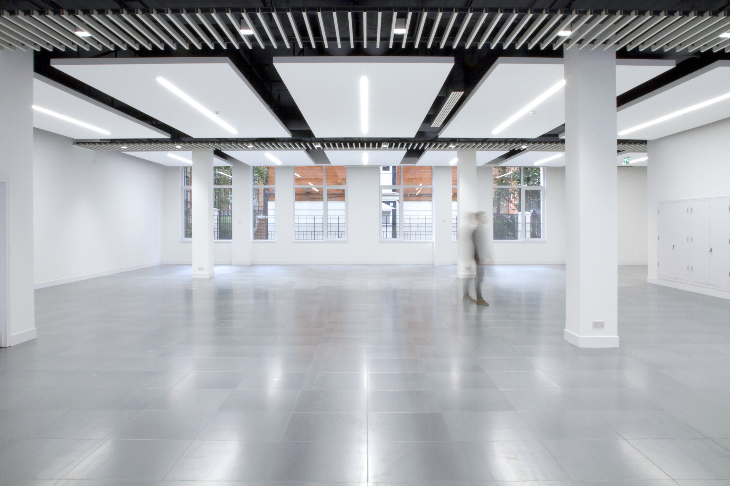 Photograph of fit out at Drury Lane Offices in London