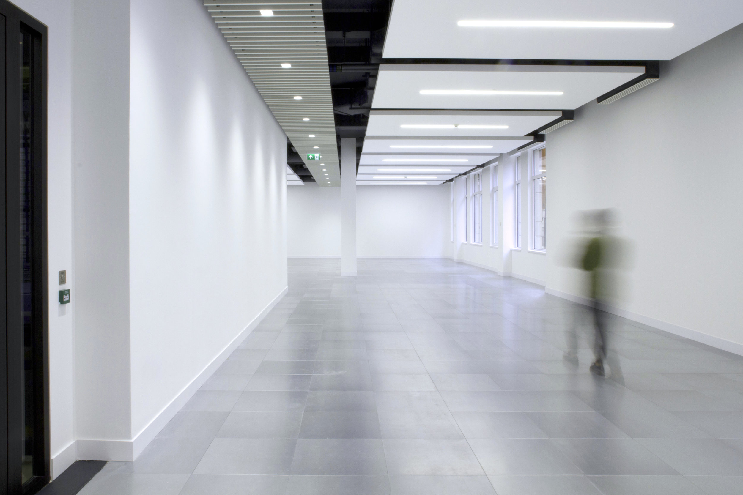 Photograph of Slimline Ceilings at Drury Lane Offices in London