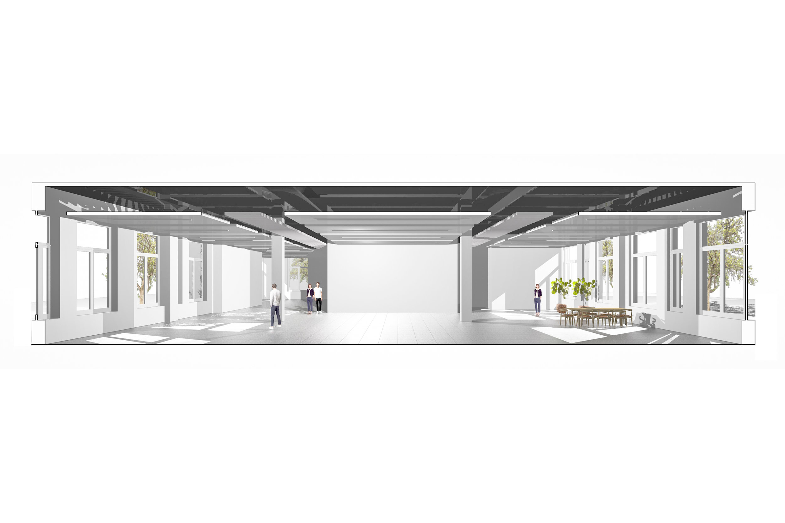 Concept Visual of CAT A Commercial Fit Out