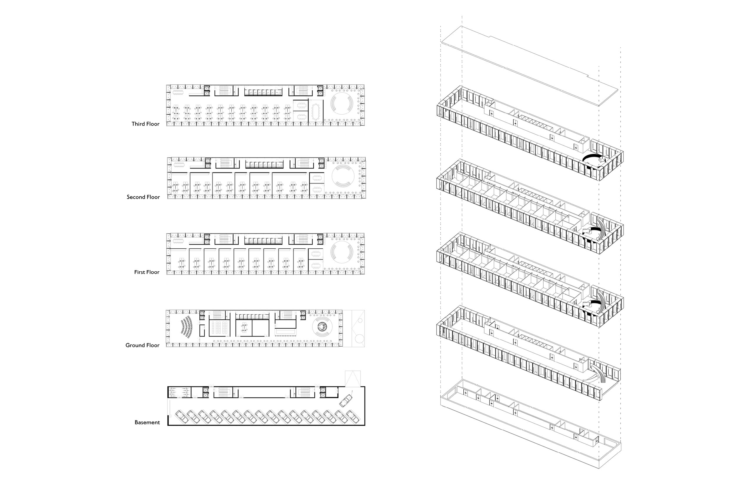 Floor Plans for BRE's Open Innovation Hub Designed by Mowat and Company