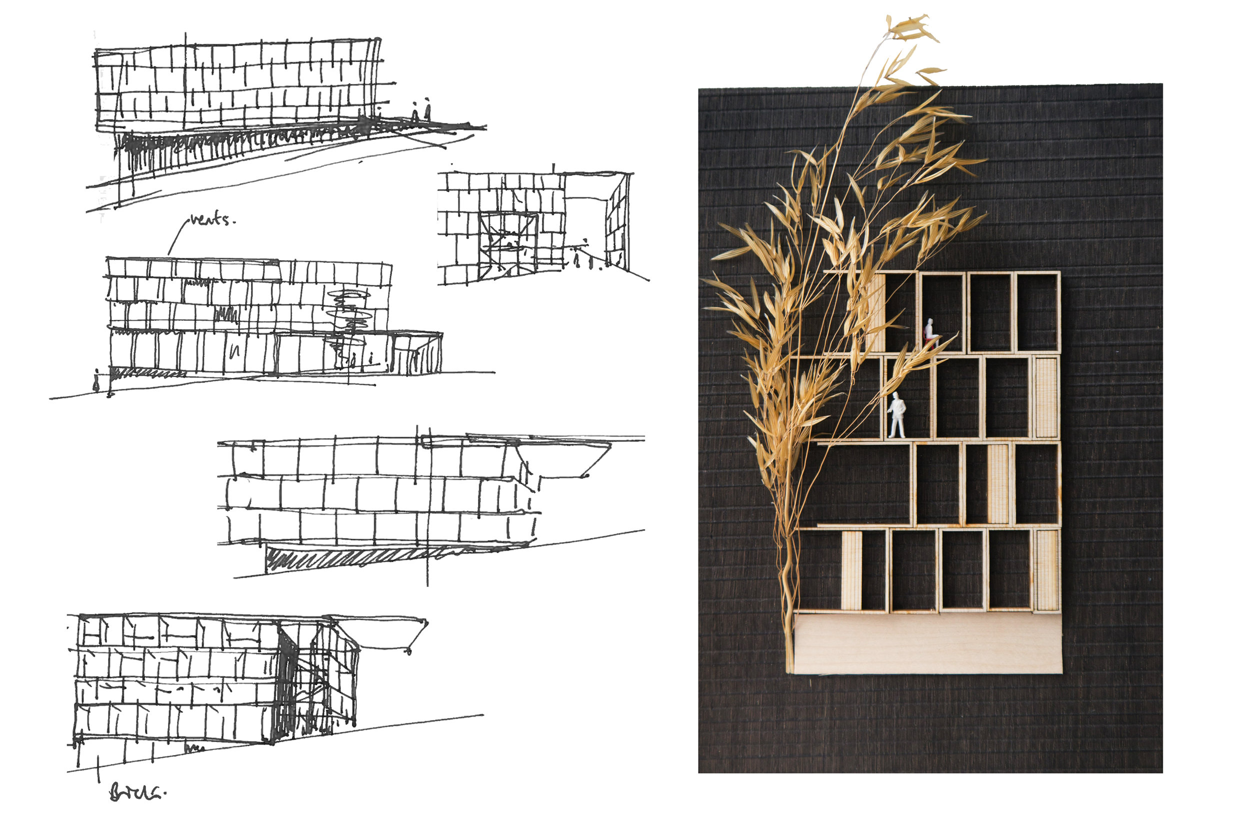 Concept Sketches for New Open Innovation Hub for BRE