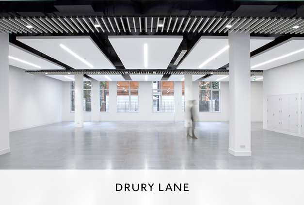 Design For Cat A Commercial Fit Out Offices at Drury Lane