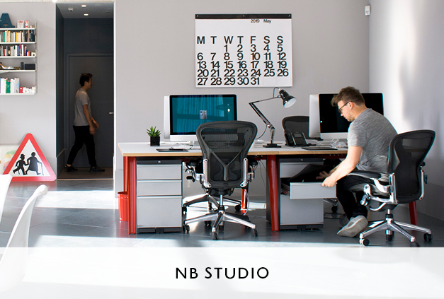Office Fit Out for Graphic Designers NB Studio by Mowat and Co