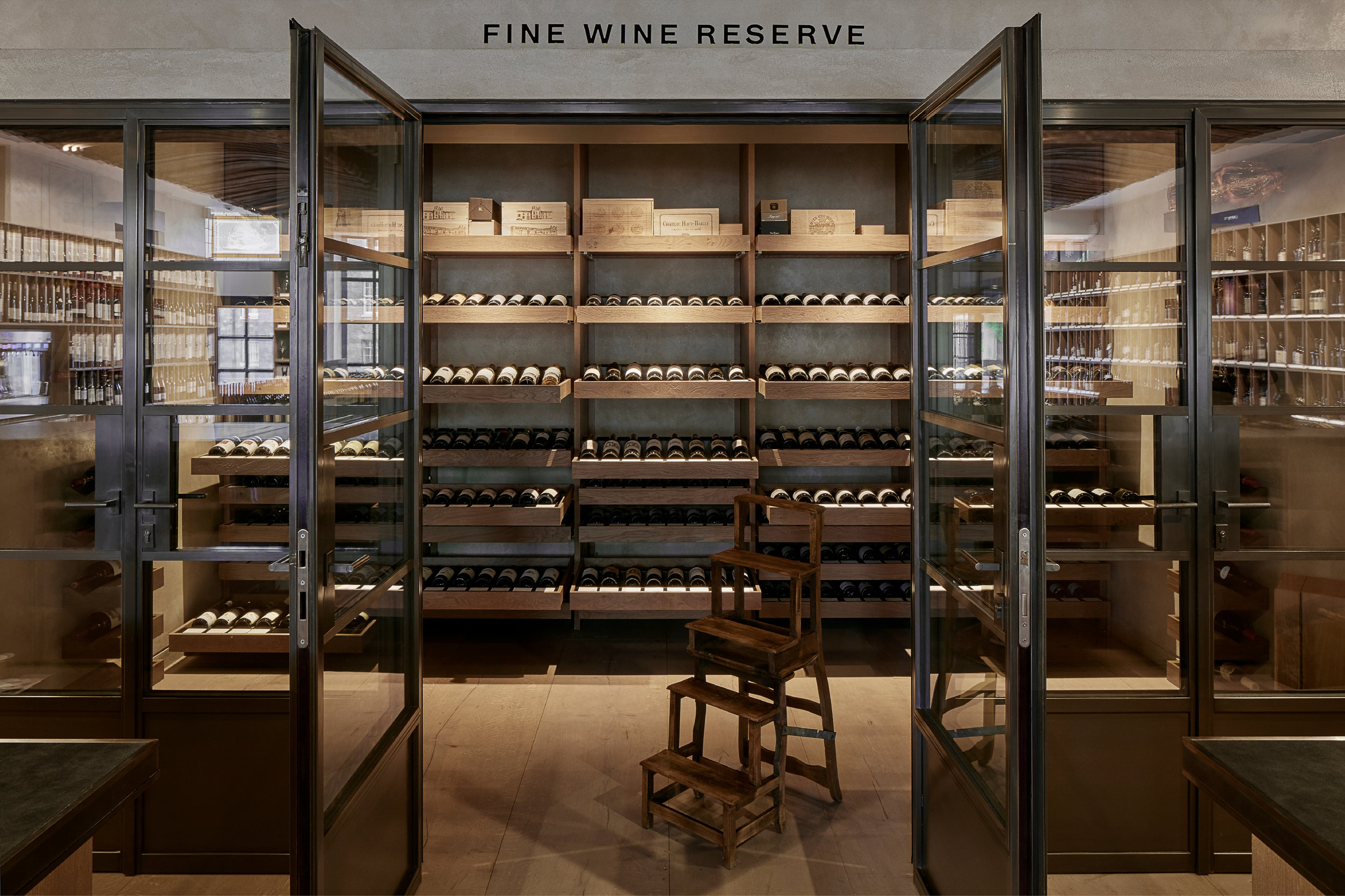 Wine Retail Shop Designed by Mowat and Company Architects