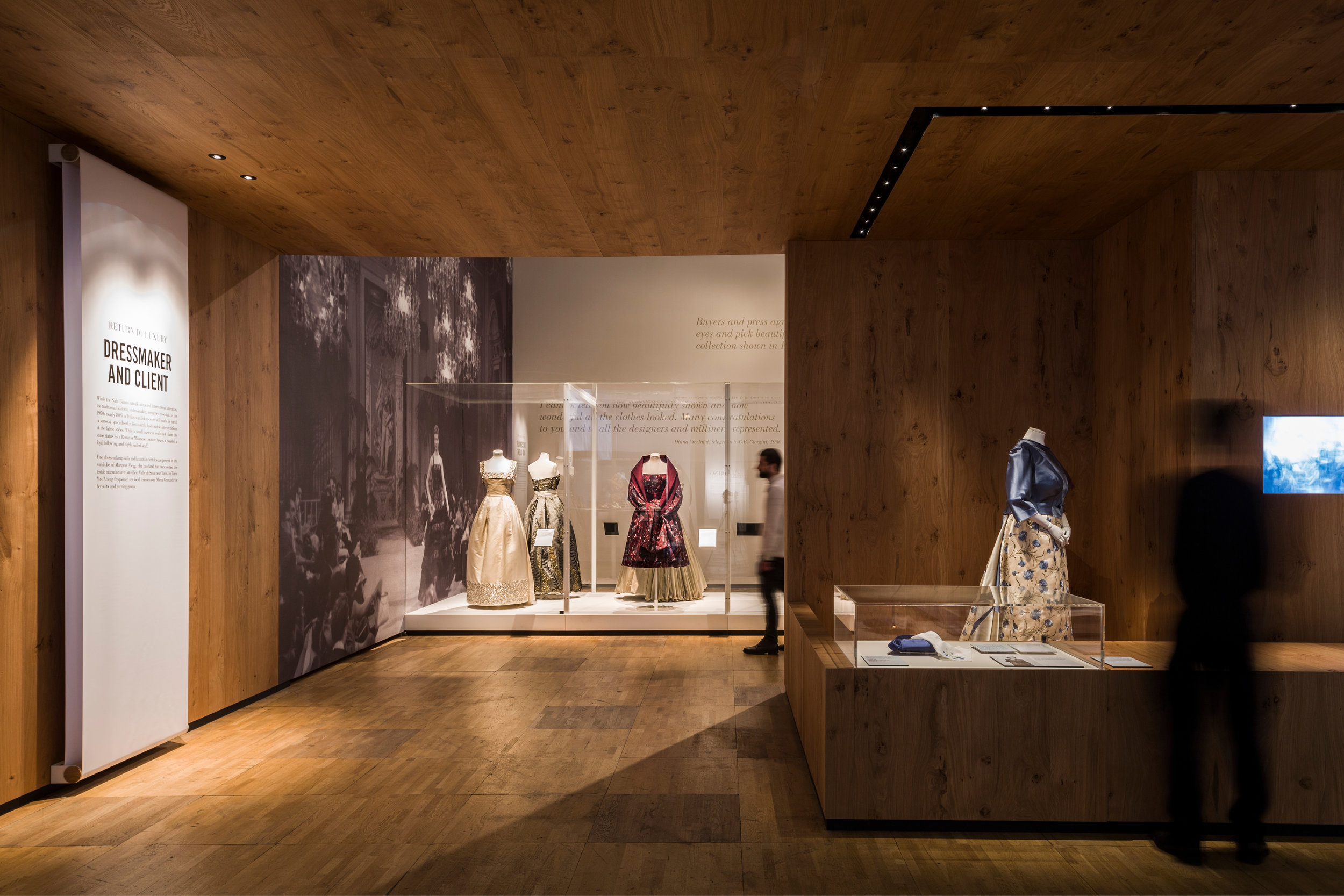 Italian Fashion Exhibition Designed by Mowat and Company