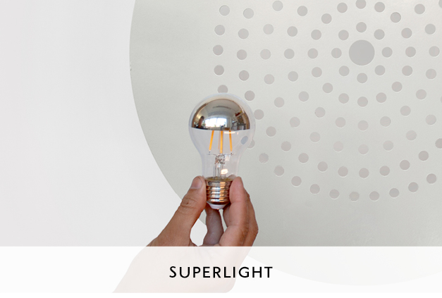 Superlight Circular Metal Pendant Designed by Mowat and Company