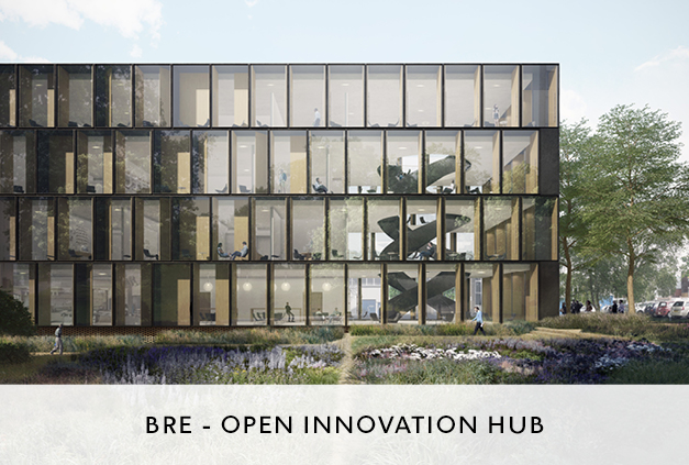 Open Innovation Architectural Design by Mowat and Company for BRE