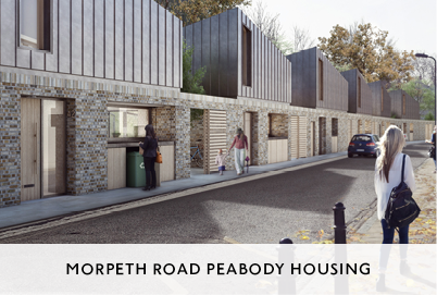 Social Housing Architecture in Hackney by Mowat and Company