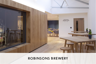 Brewery Design Interior and Bar for Robinsons Brewery