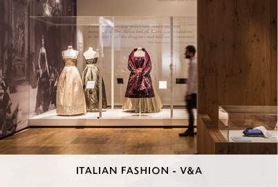 Italian Fashion Exhibition Design by Mowat and Company for the V&A