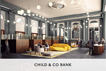Child and Co Bank Interior Design by Mowat and Co Architects