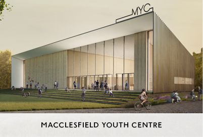 Design of Youth Centre in Macclesfield by Mowat and co Architects