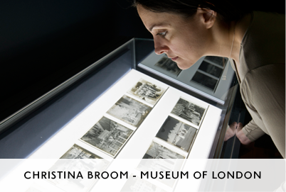 Christina Broom Exhibition at the Museum of London by M&C Architects