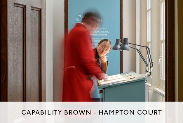 Capability Brown Exhibition Design by Mowat and Company Architects
