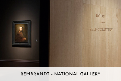 Rembrandt Exhibition at the National Gallery Designed by M&C