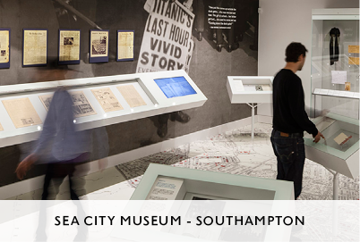 SeasCity Exhibition in Southampton by Mowat and Co Architects