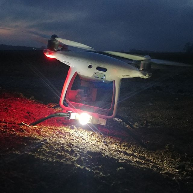DroneRafts can enable Part 107 night waivers with FireFly! * * * * #DroneAnywhere #Part107 #Phantom
