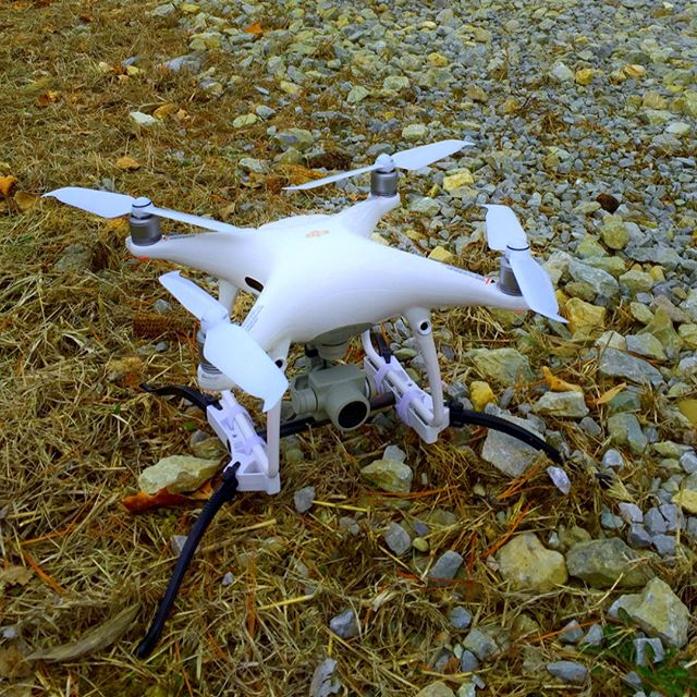 Even newbie pilots can fly with confidence when they use TerraStrider! Safe and easy take offs and landings every time.  #DroneAnywhere #Phantom #DJI