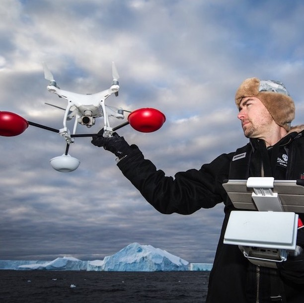 We've had WaterStriders on every continent. Here it is in Antarctica.  https://www.dronerafts.com/tech-specs-waterstrider . . . #drone #droneanywhere #waterstrider #phantom #drones #arialphotography #droneonwater #landingonwater  #droneprotection #phantomdji #dji