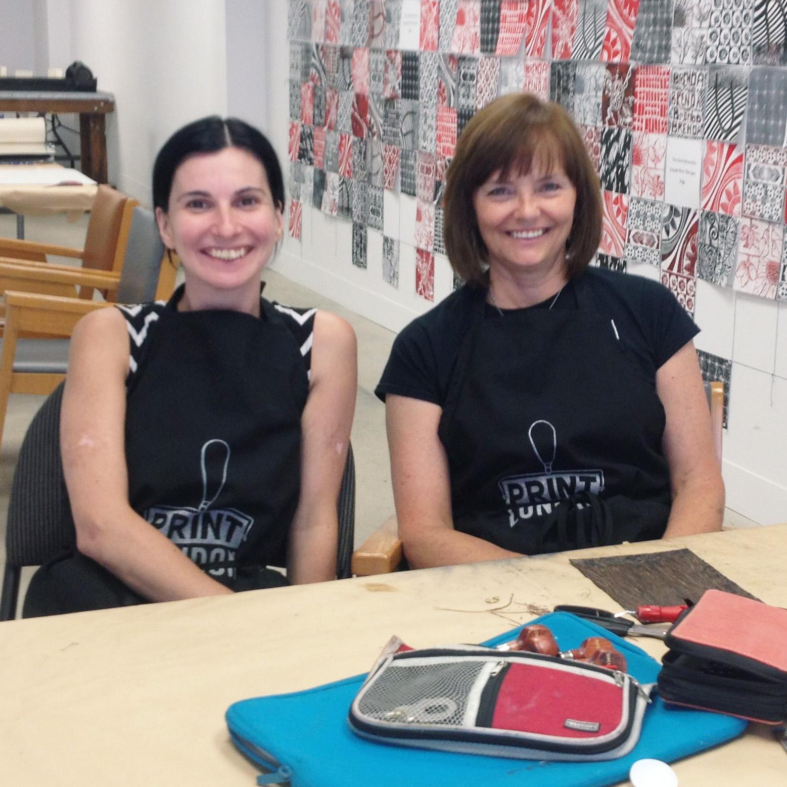 Week 1:   Debbie Bento   and Lori Jensen-Brazier  o