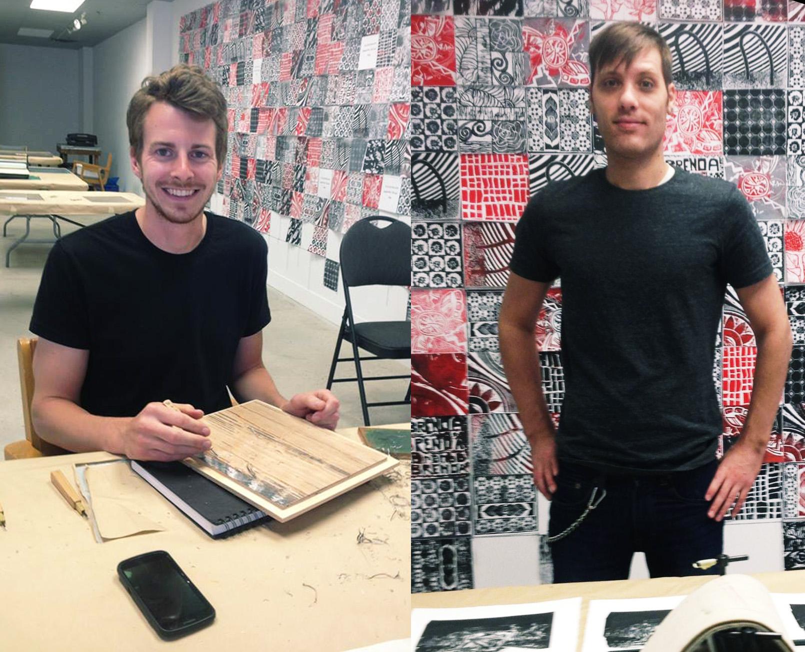 Week 2:   Brian Rack and Matthew Trueman