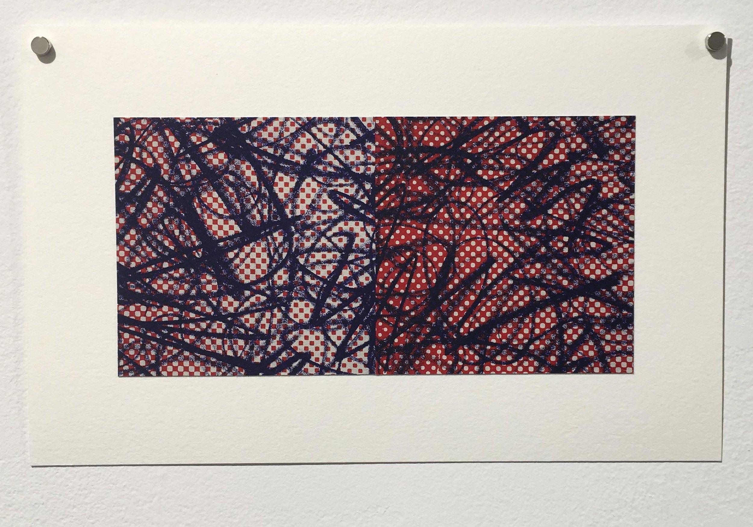 Third Prize – Ryan Laidman, No Order (2016), waterless lithography