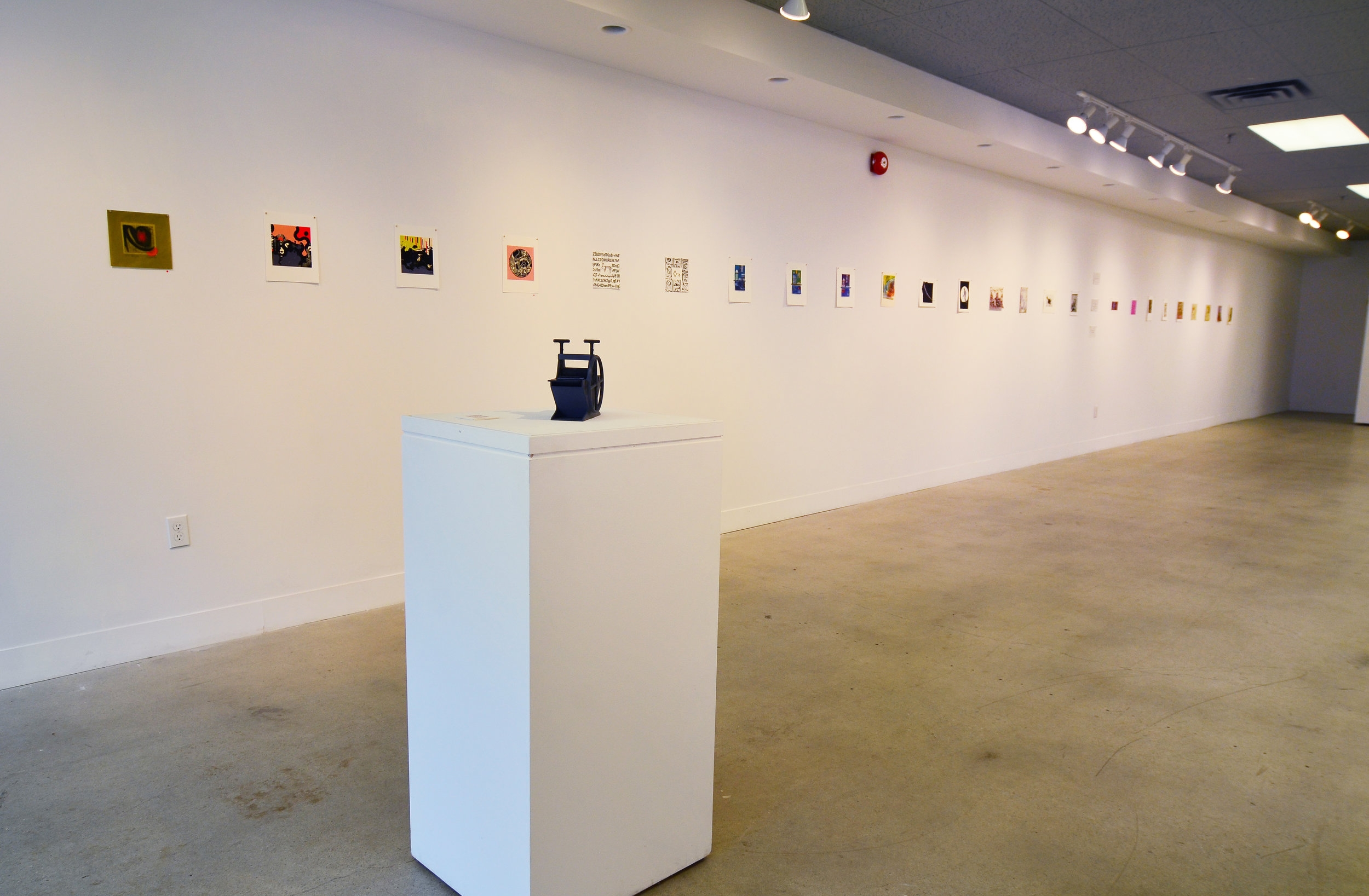 TOMPE Installation - Left side of gallery