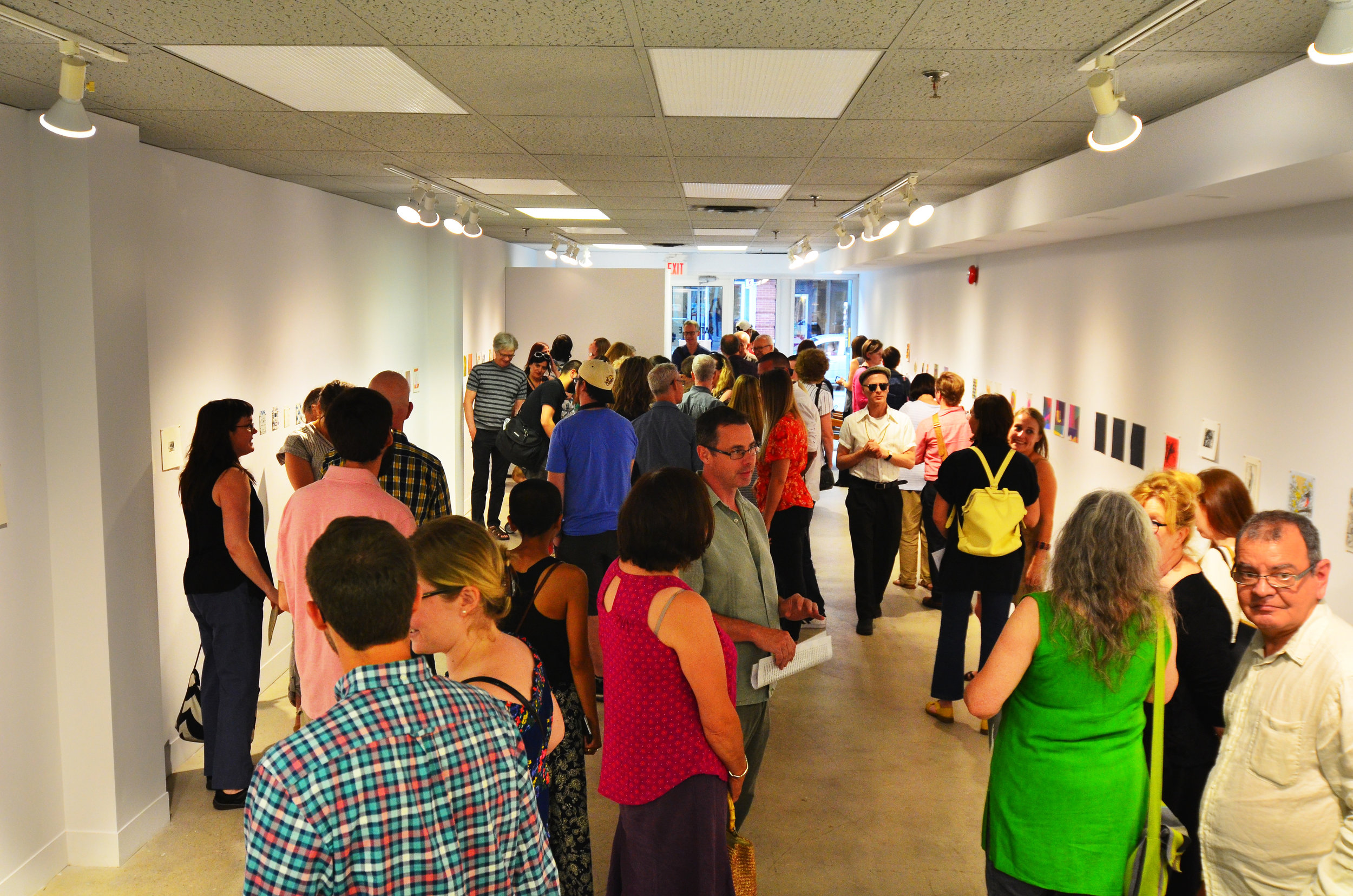 TOMPE 2017 Opening night, June 22 at Satellite Project Space.
