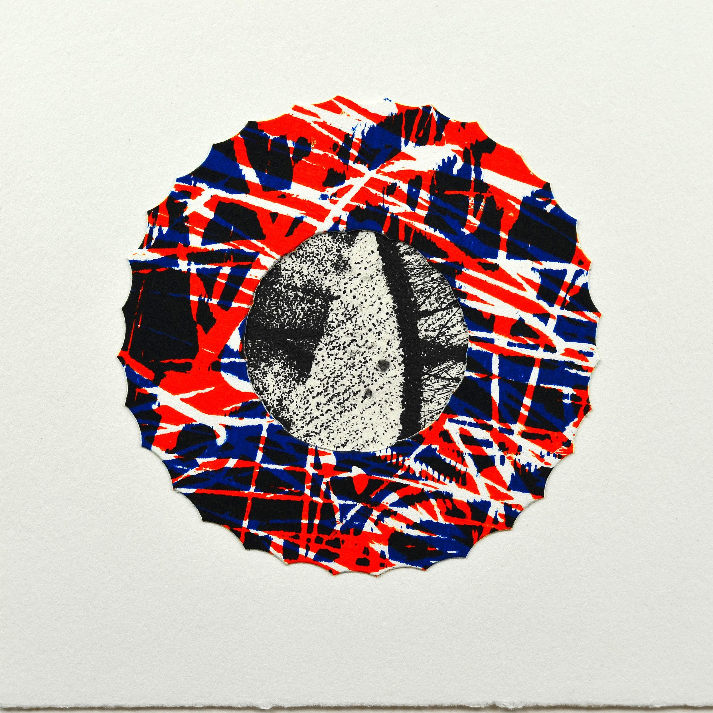 Ryan Laidman    Starwheel   Etching, woodcut
