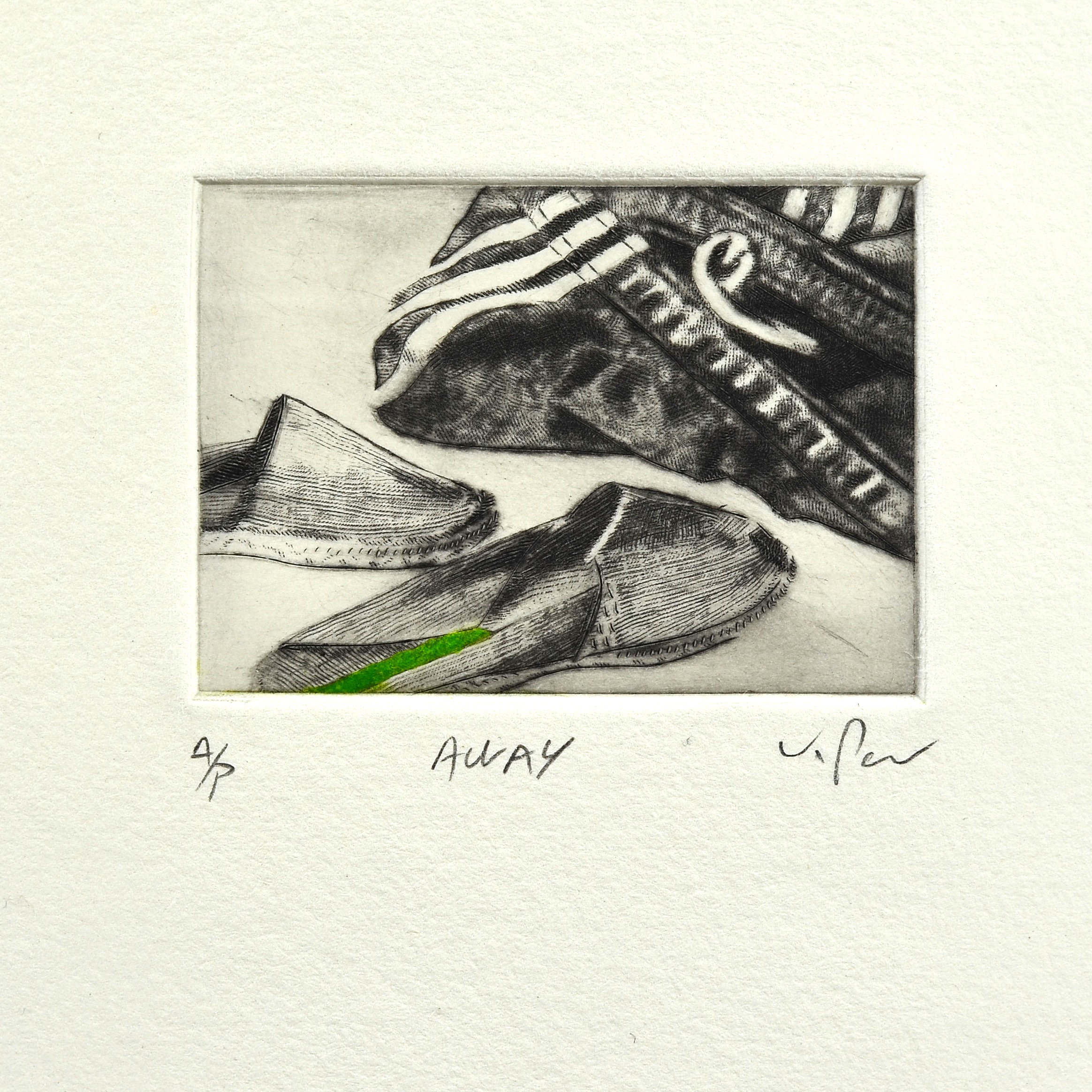 Kurt Pammer    Away   Drypoint