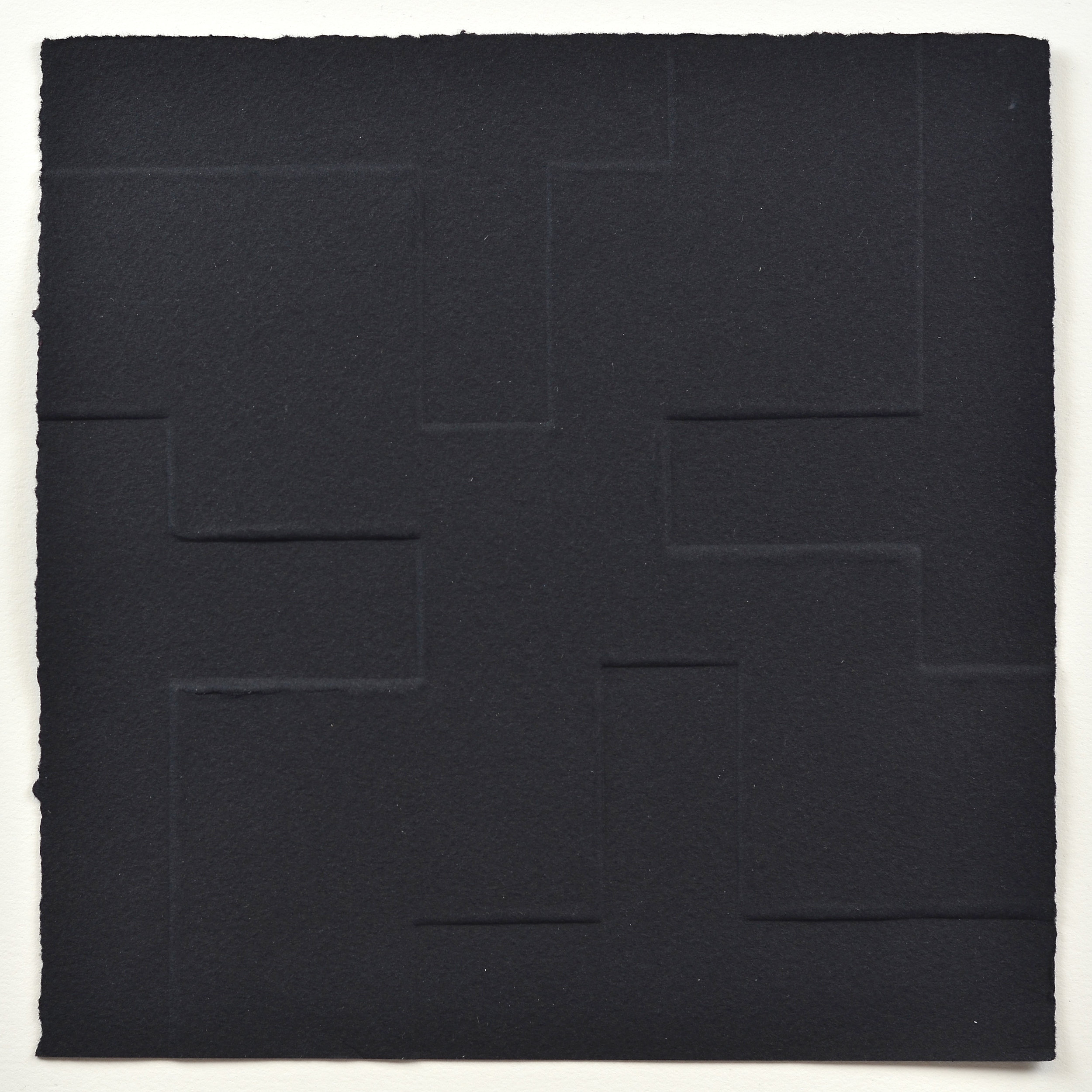 Paulina Wiszowata     Paper as Space 003   Relief/embossing