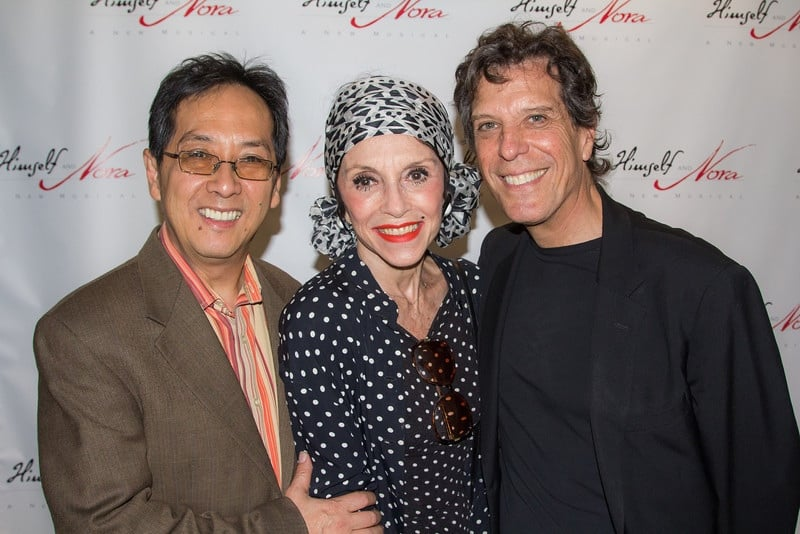 Jonathan, John Yap, and Liliane Montevecchi