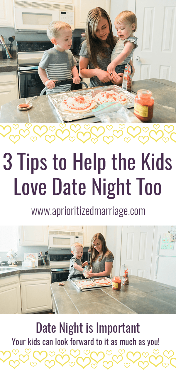 Make date night fun for your kids too with these three tips.