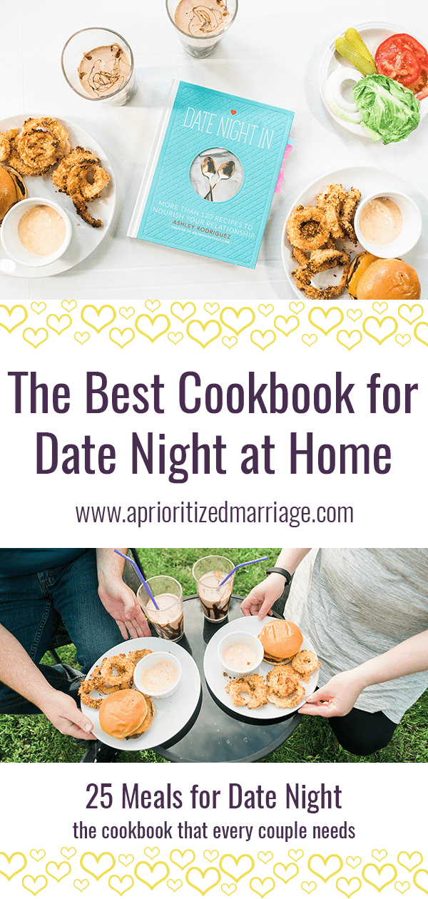 The perfect cookbook for date nights at home.