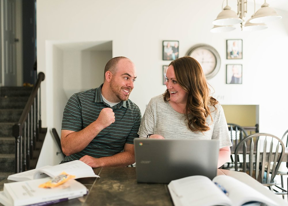 help your spouse with homework