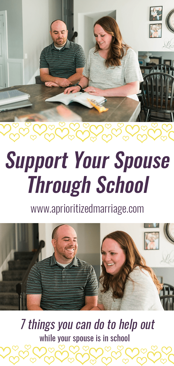 Back to school tips for married college students