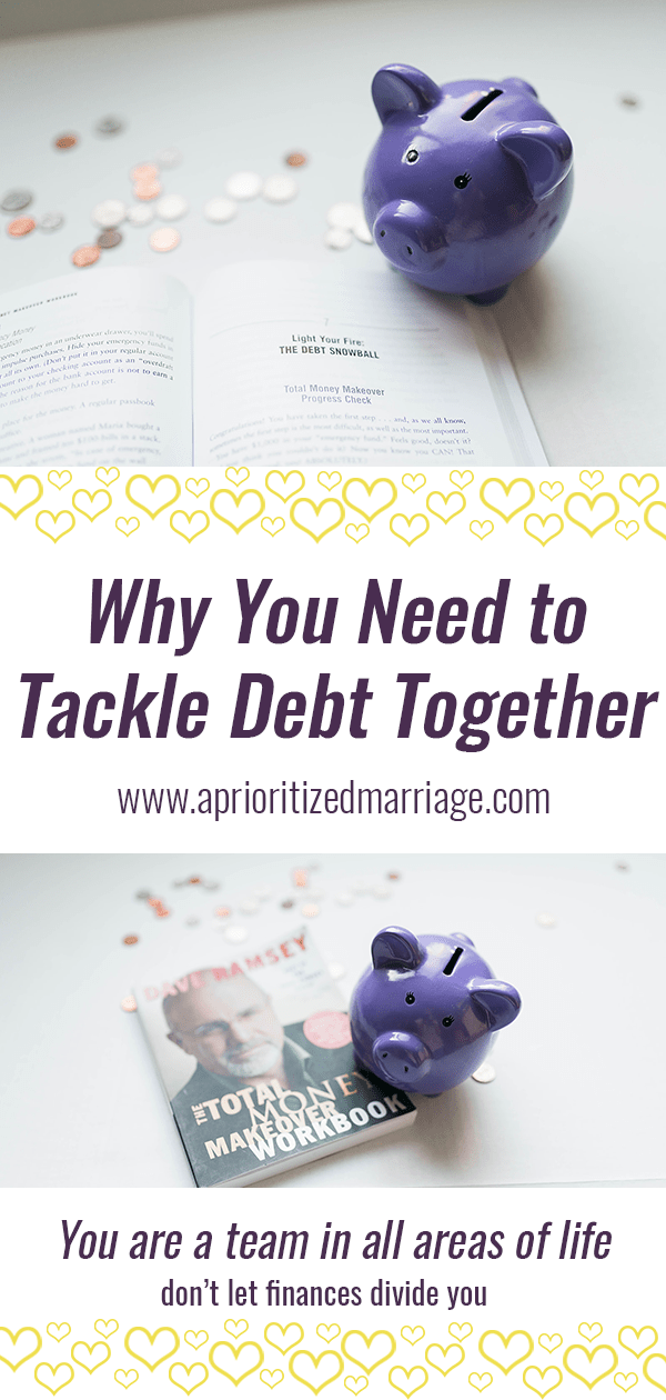 You should be tackling debt as a team in your marriage, no matter whose debt it is. Here's why...