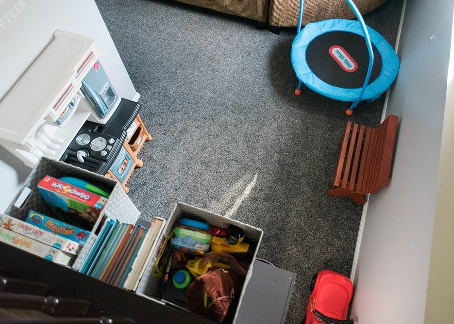playroom in a small home