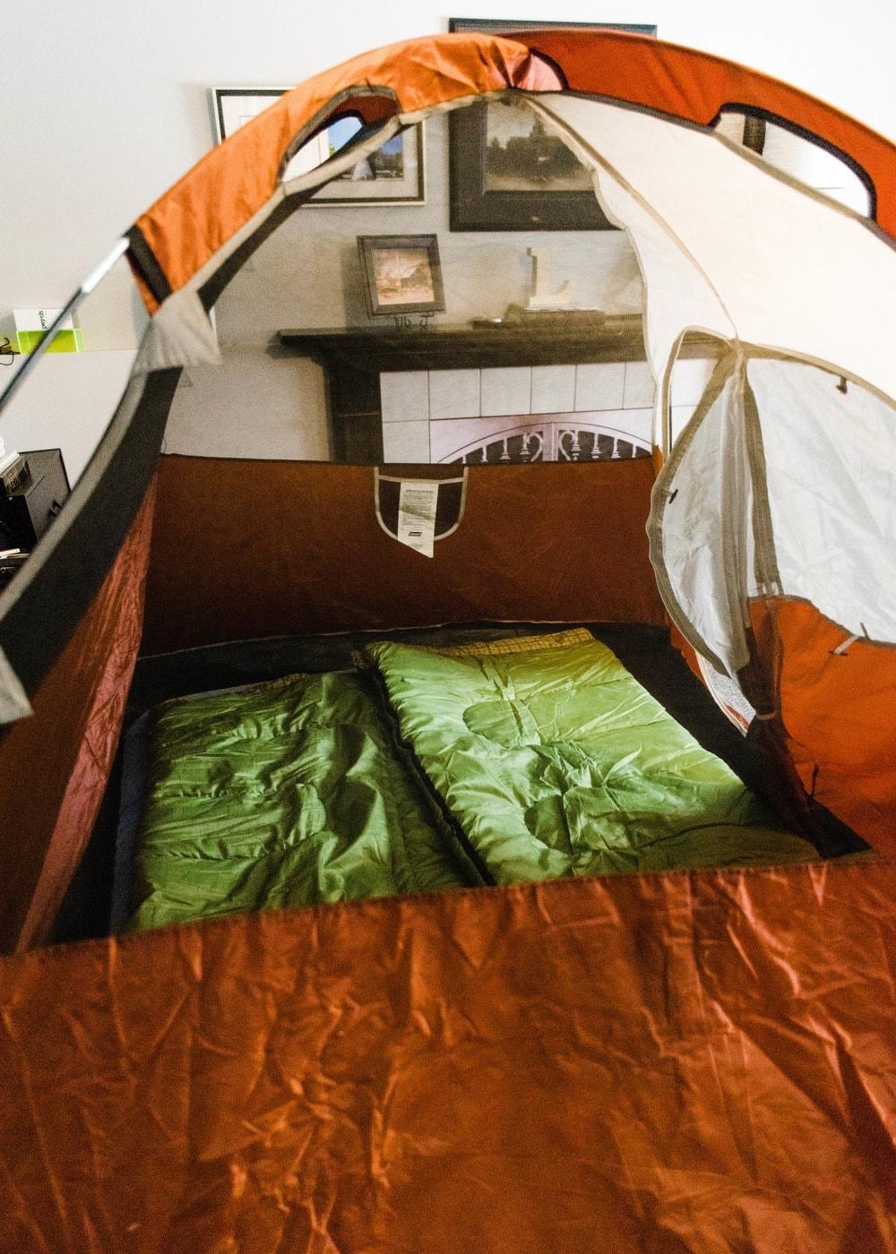 winter camping alternatives