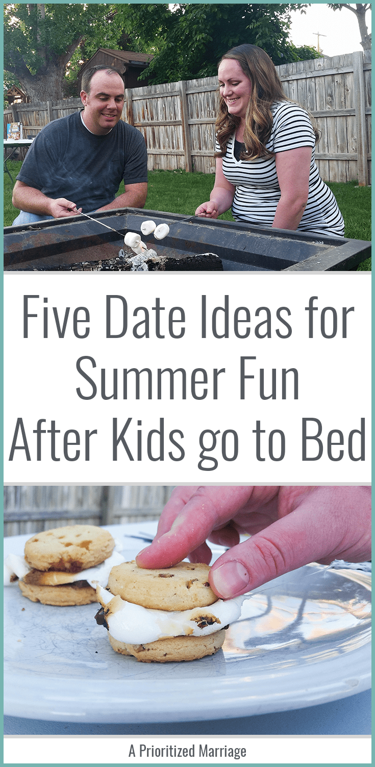 Five ideas for summer fun as a couple after the kids are in bed.