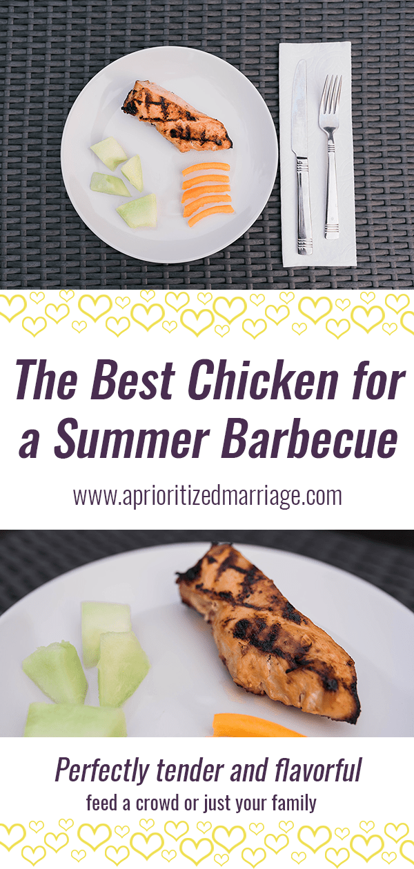 Grilled chicken or turkey for your next summer barbecue.