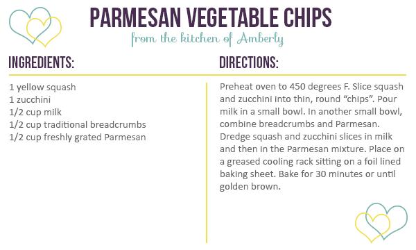 Parmesan Vegetable Chips