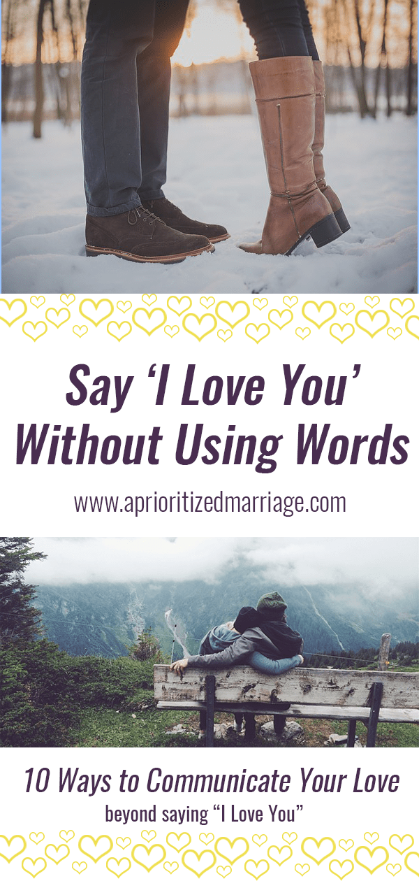 Communicate love to your spouse