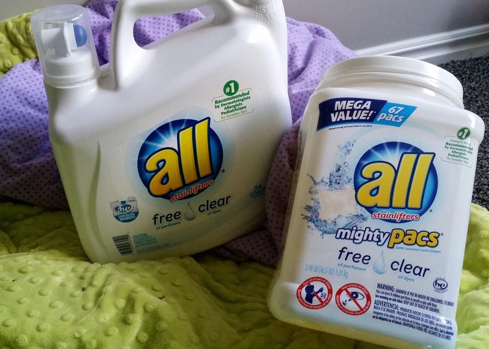 laundry detergent for sensitive skin