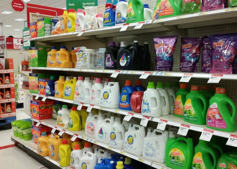 all free & clear at Target