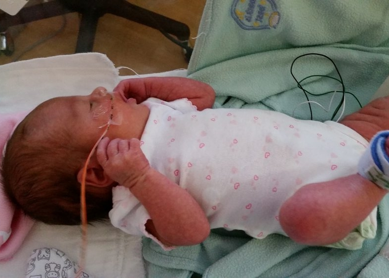 time with baby in the nicu