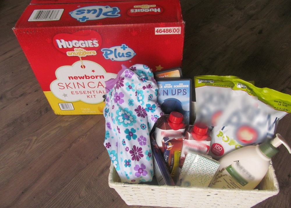 gift basket for new parents
